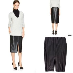 Babaton Jax faux leather skirt
